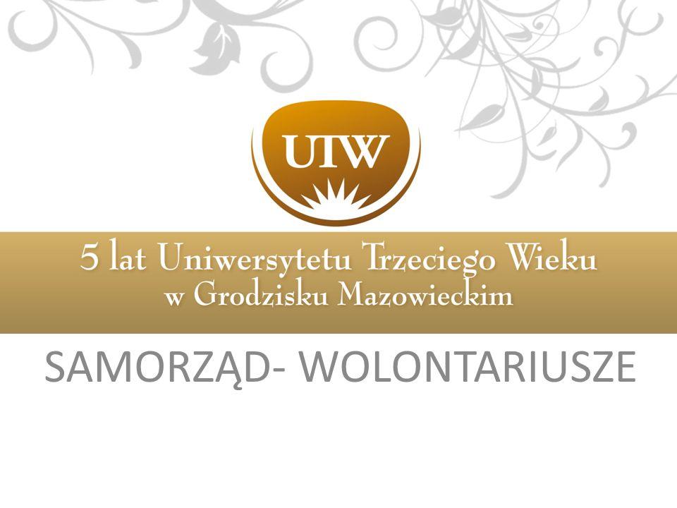 SAMORZĄD- WOLONTARIUSZE