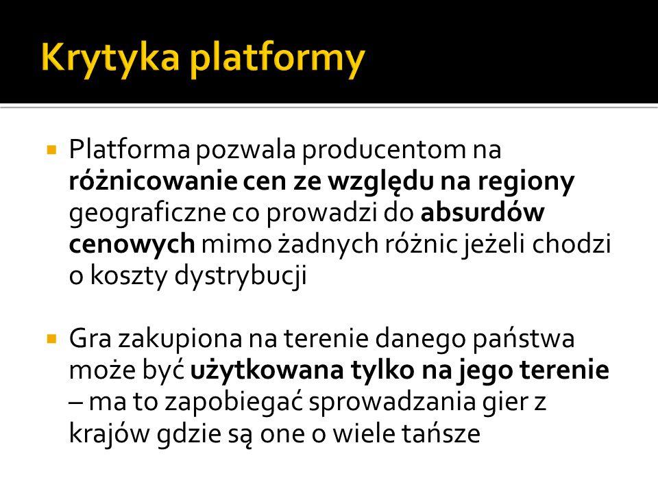 Krytyka platformy