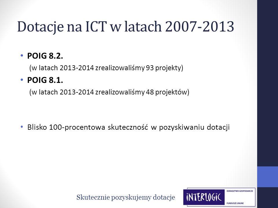 Dotacje na ICT w latach 2007-2013