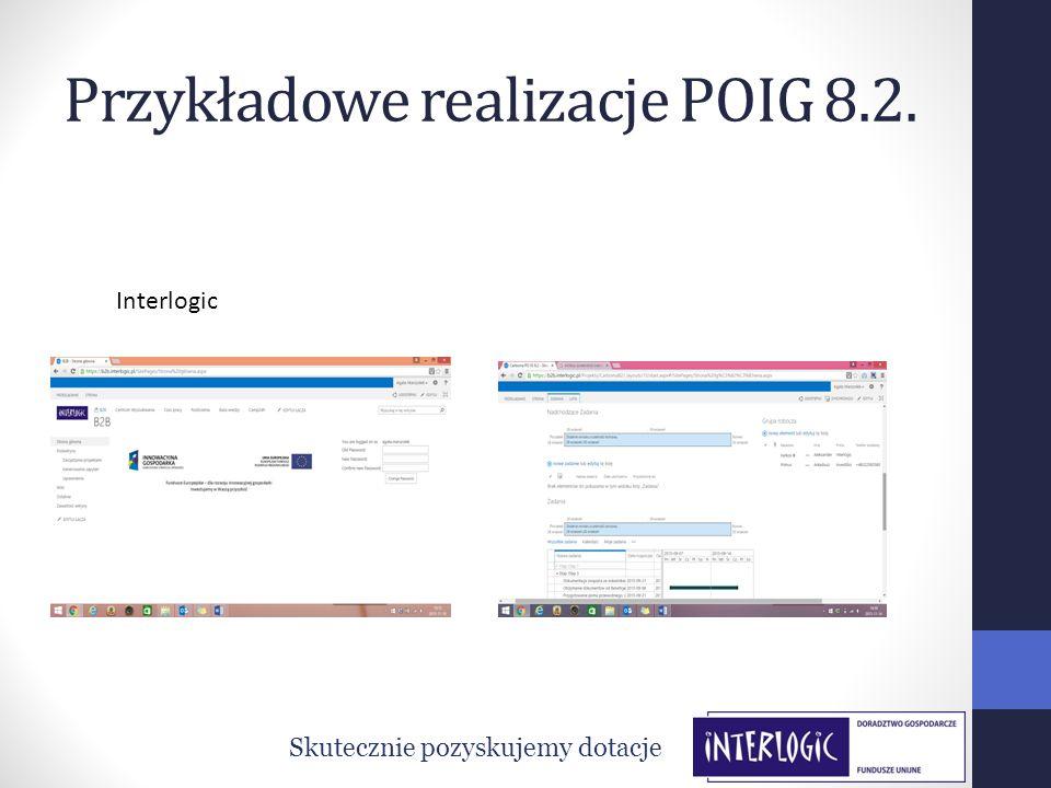 Przykładowe realizacje POIG 8.2.