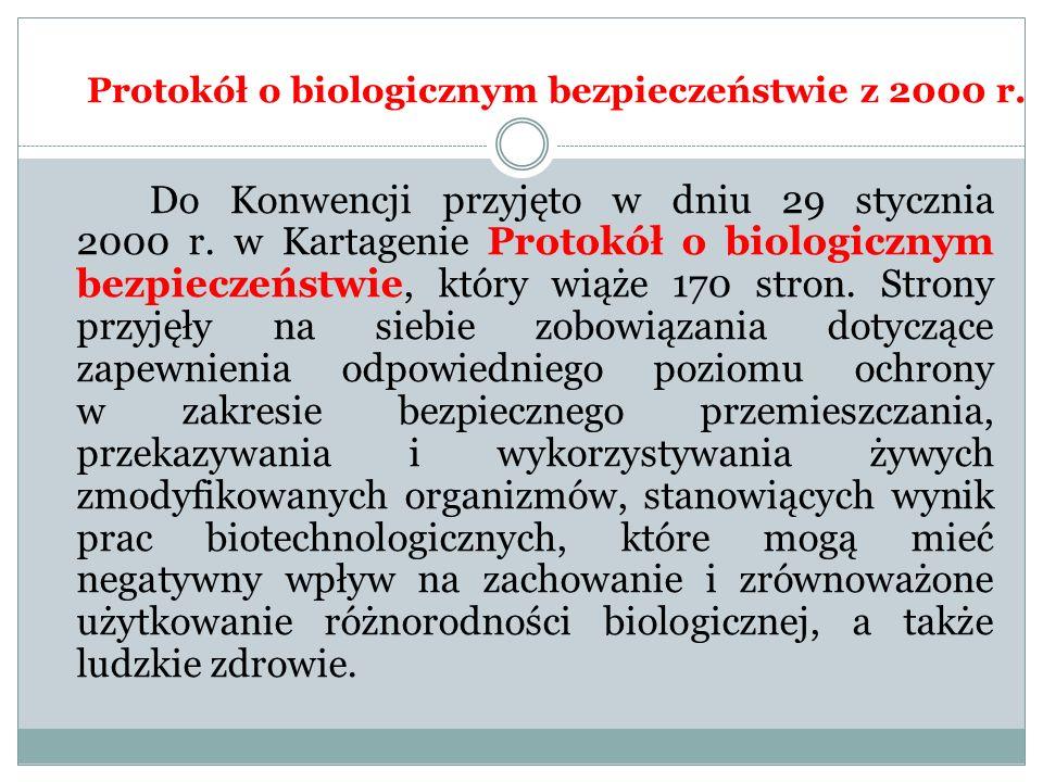 Protokół o biologicznym bezpieczeństwie z 2000 r.