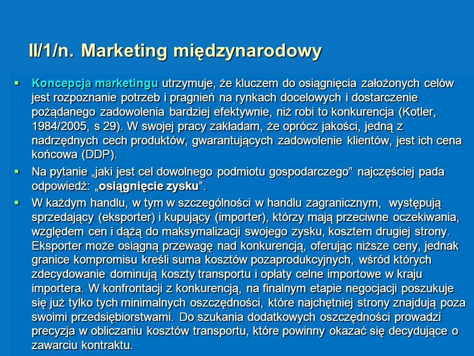 II/1/n. Marketing międzynarodowy