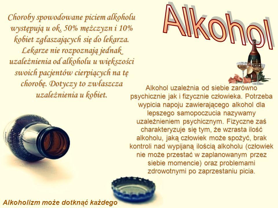 Alkoholizm może dotknąć każdego
