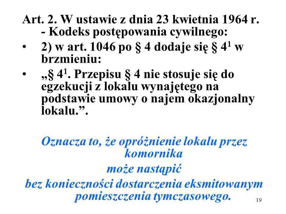 2) w art. 1046 po § 4 dodaje się § 41 w brzmieniu: