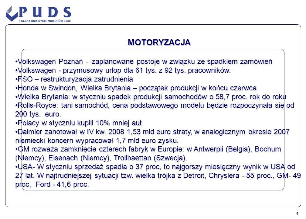 MOTORYZACJA Volkswagen Poznań - zaplanowane postoje w związku ze spadkiem zamówień.