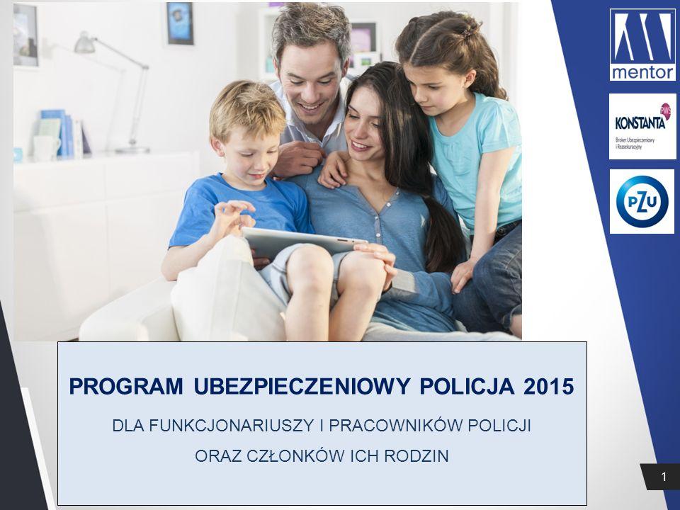 PROGRAM UBEZPIECZENIOWY POLICJA 2015