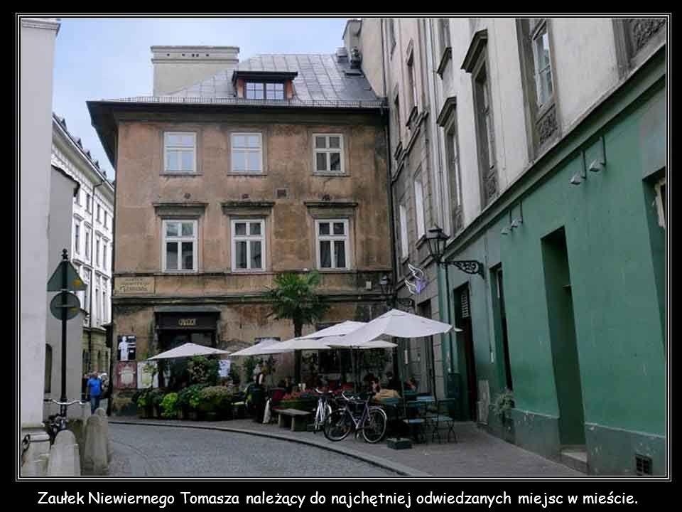 Zaułek Niewiernego Tomasza należący do najchętniej odwiedzanych miejsc w mieście.