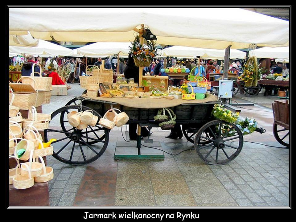 Jarmark wielkanocny na Rynku