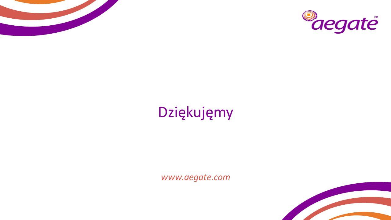 Dziękujęmy www.aegate.com