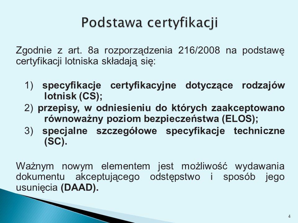 Podstawa certyfikacji