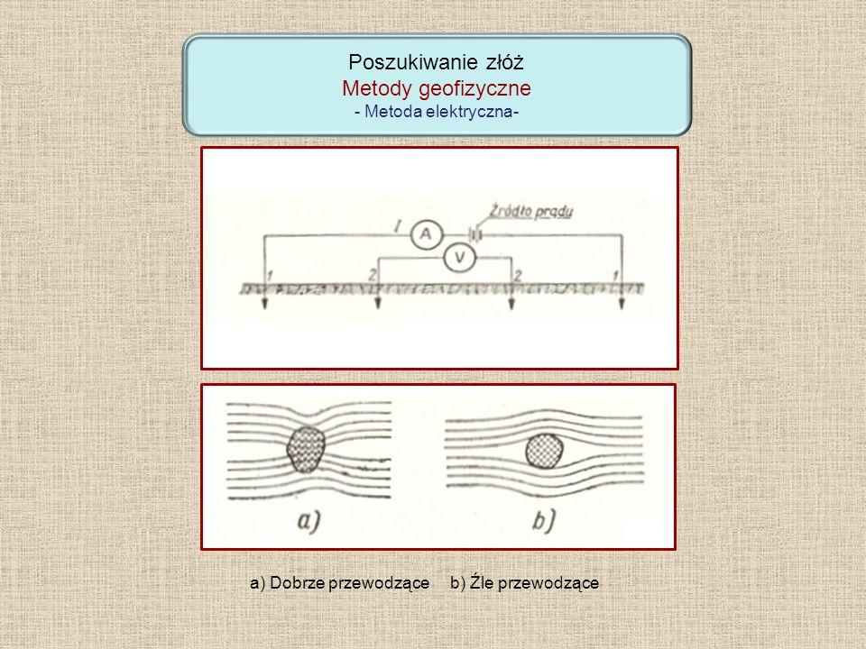 Poszukiwanie złóż Metody geofizyczne - Metoda elektryczna-