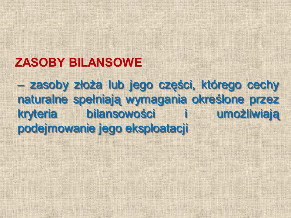 ZASOBY BILANSOWE