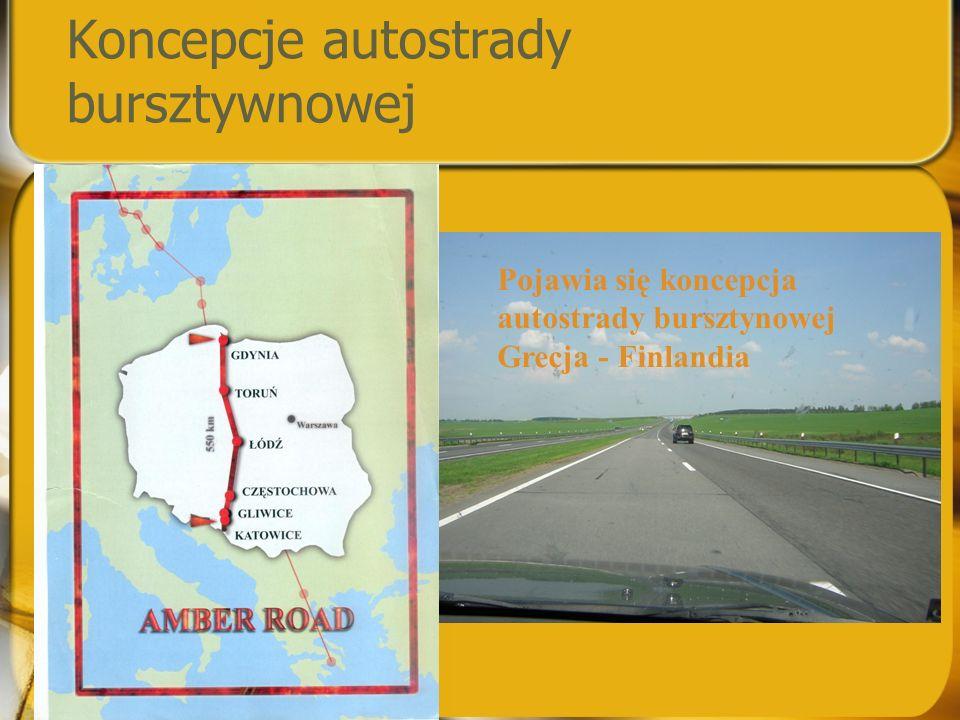 Koncepcje autostrady bursztywnowej