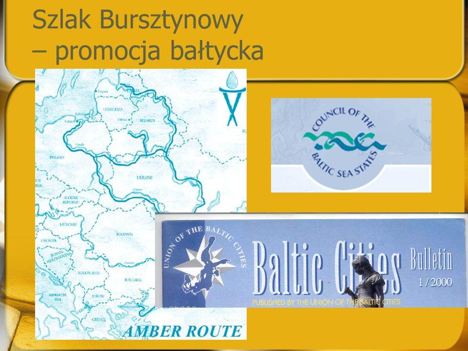 Szlak Bursztynowy – promocja bałtycka