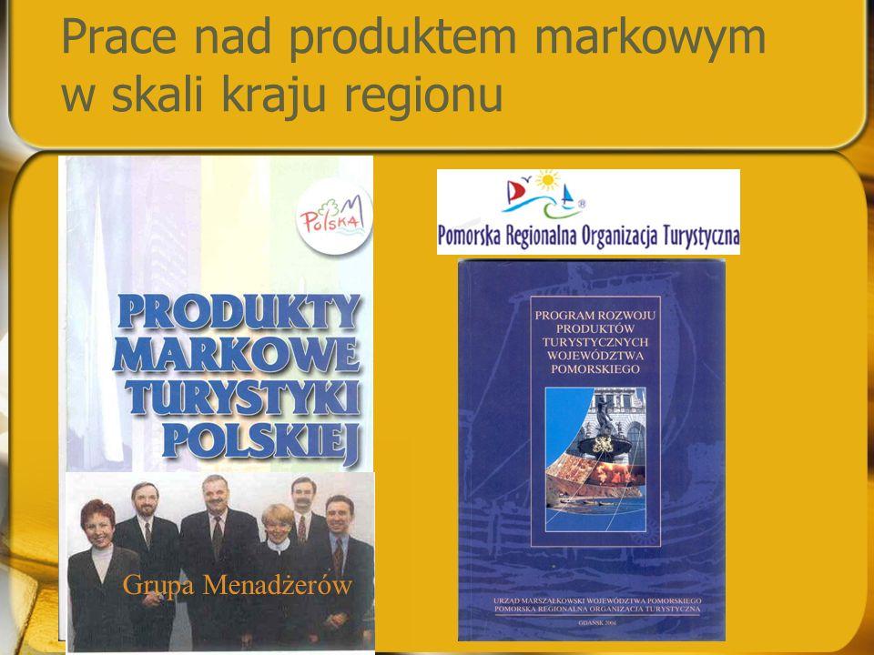 Prace nad produktem markowym w skali kraju regionu