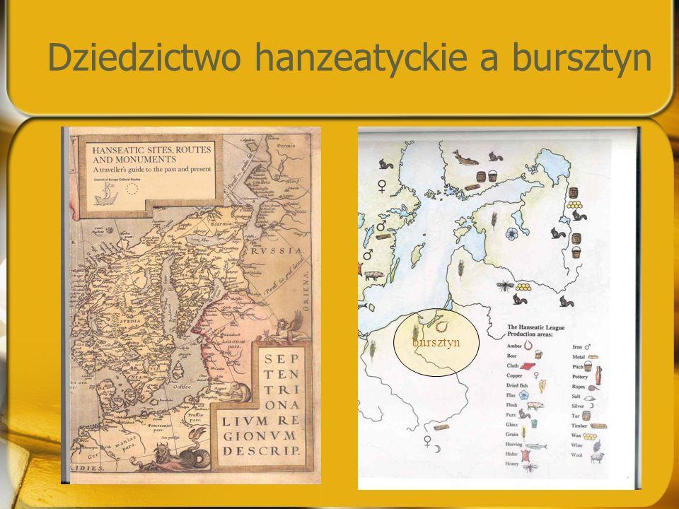 Dziedzictwo hanzeatyckie a bursztyn