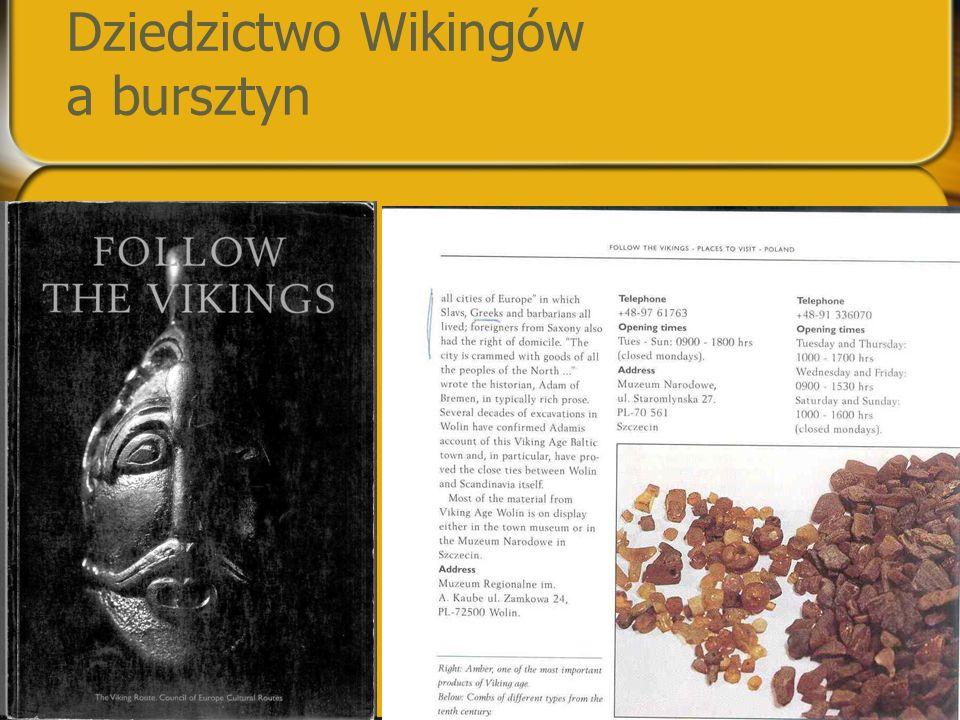 Dziedzictwo Wikingów a bursztyn