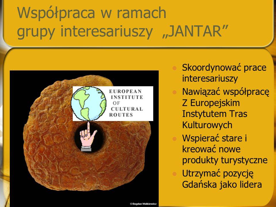 """Współpraca w ramach grupy interesariuszy """"JANTAR"""