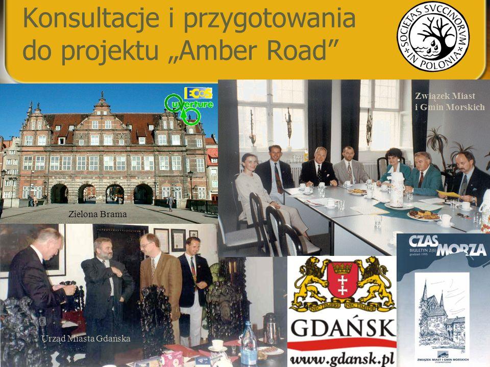 """Konsultacje i przygotowania do projektu """"Amber Road"""