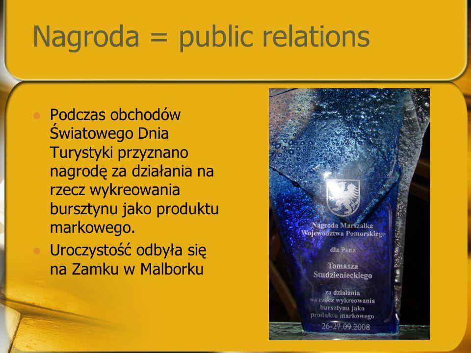 Nagroda = public relations