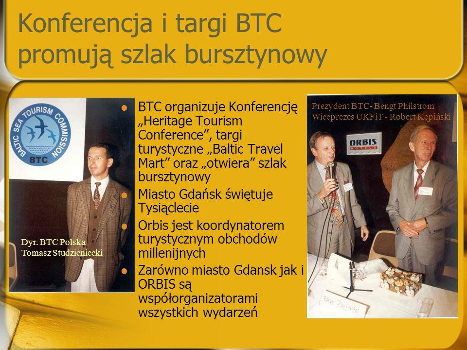 Konferencja i targi BTC promują szlak bursztynowy