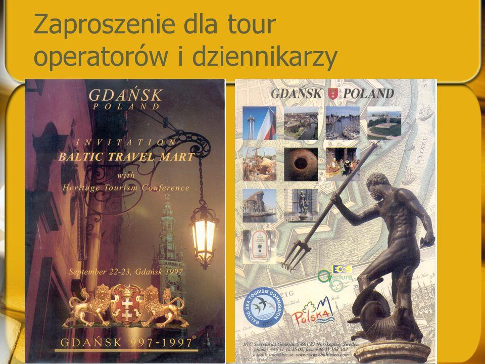 Zaproszenie dla tour operatorów i dziennikarzy