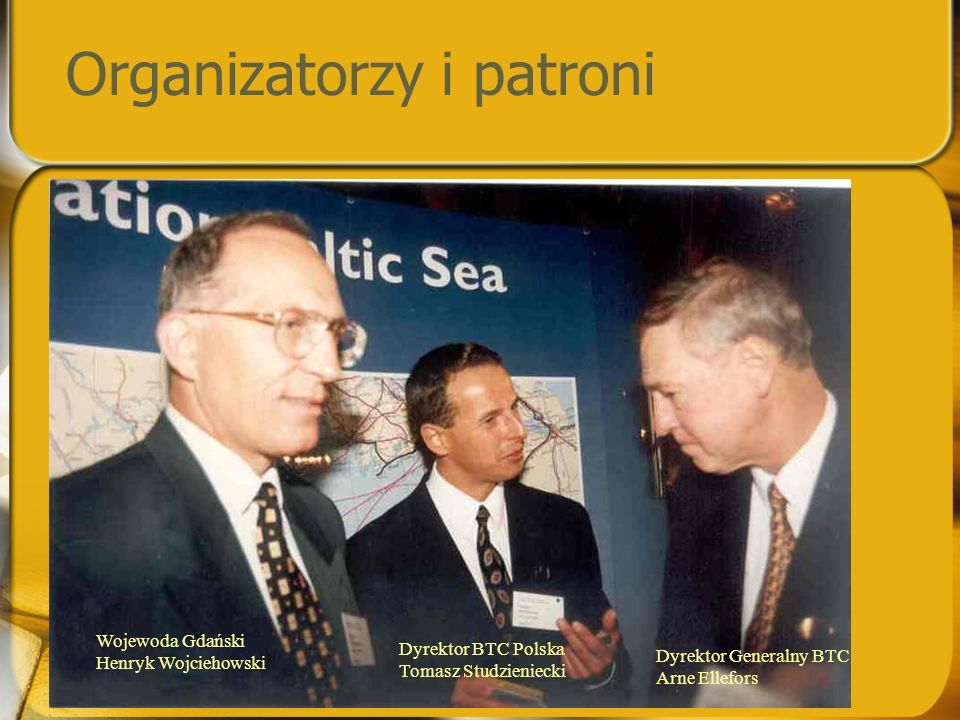 Organizatorzy i patroni