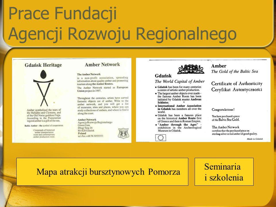 Prace Fundacji Agencji Rozwoju Regionalnego