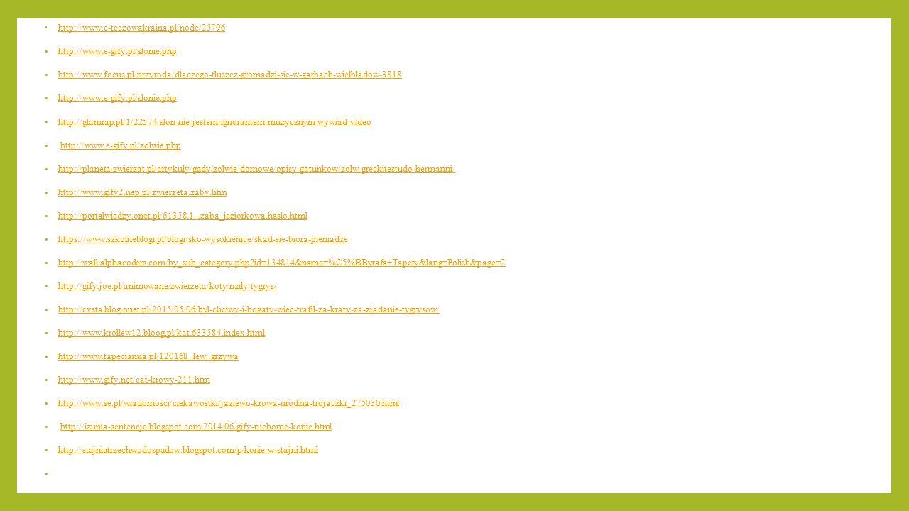 http://www.e-teczowakraina.pl/node/25796 http://www.e-gify.pl/slonie.php.