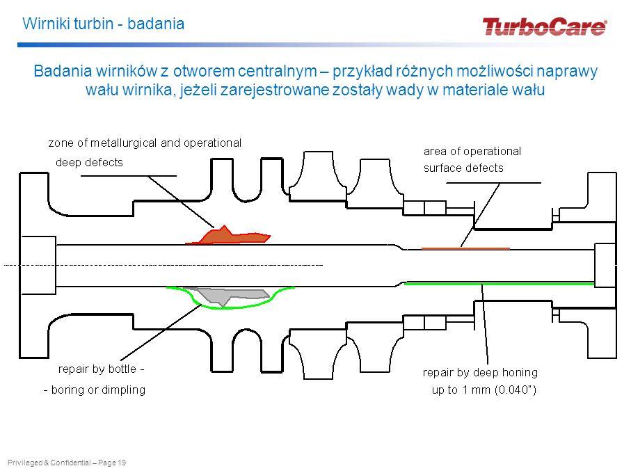 Badania wirników z otworem centralnym – przykład różnych możliwości naprawy wału wirnika, jeżeli zarejestrowane zostały wady w materiale wału