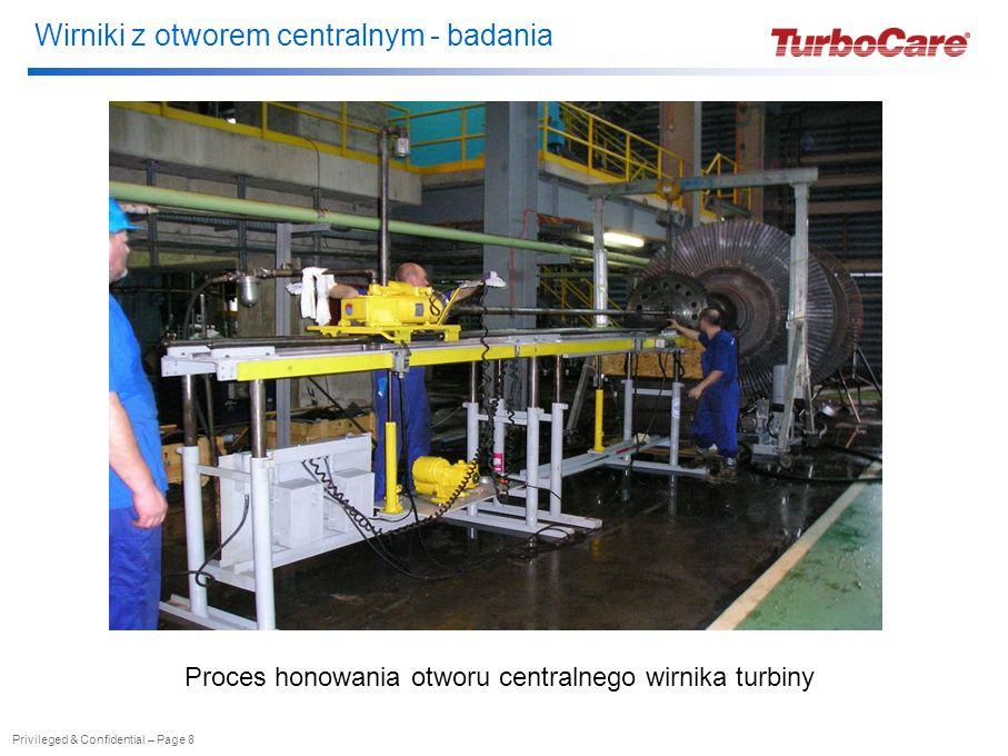 Wirniki z otworem centralnym - badania