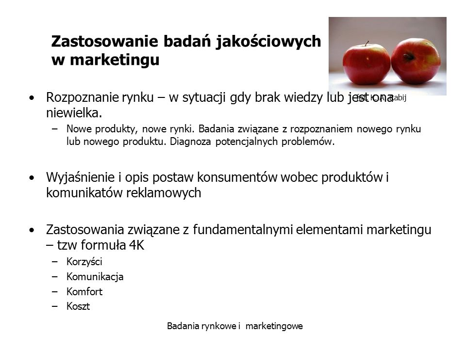 Zastosowanie badań jakościowych w marketingu