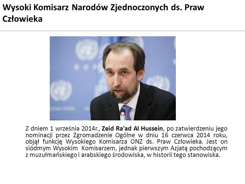 Wysoki Komisarz Narodów Zjednoczonych ds. Praw Człowieka