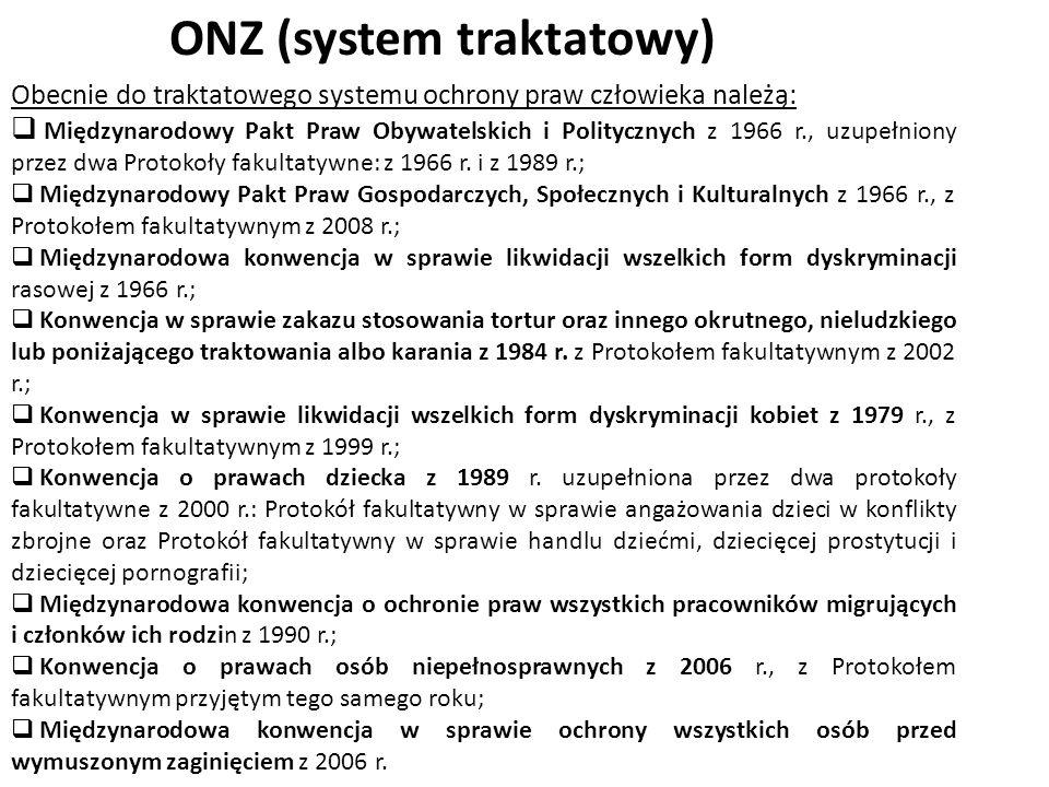 ONZ (system traktatowy)