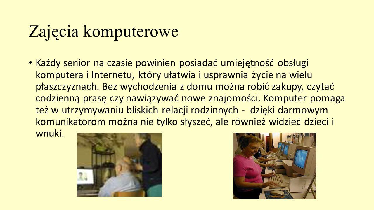 Zajęcia komputerowe