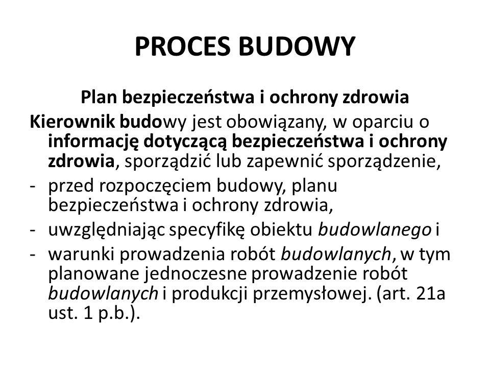 Plan bezpieczeństwa i ochrony zdrowia