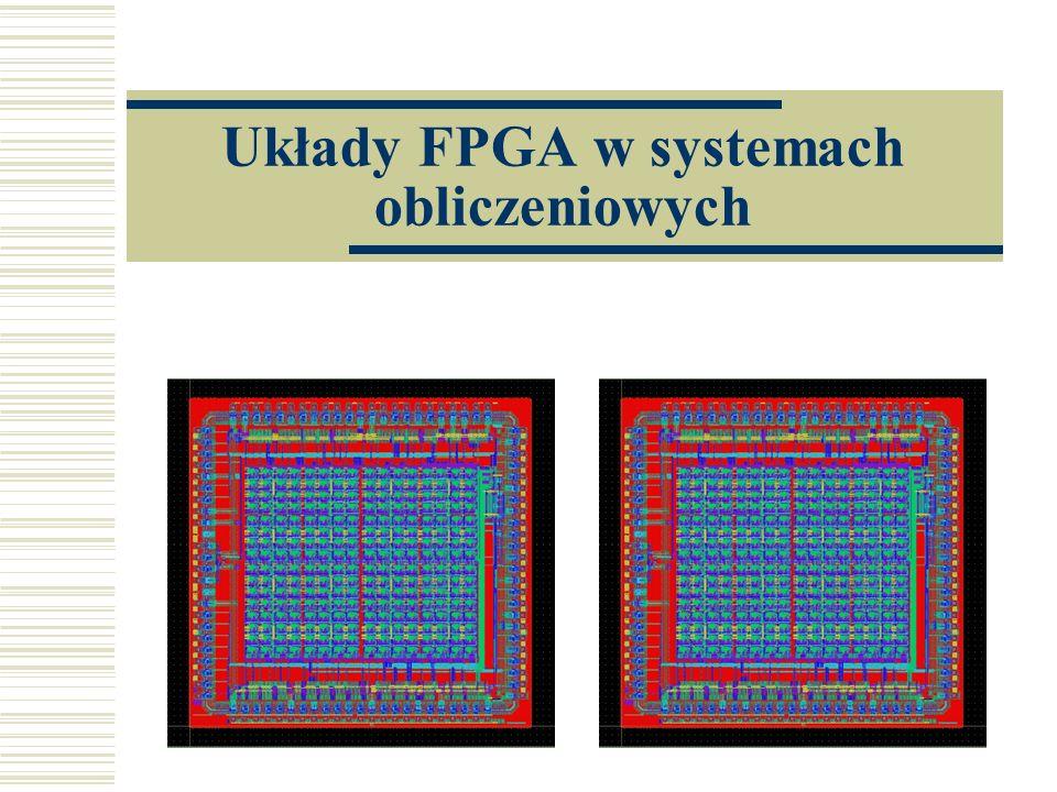 Układy FPGA w systemach obliczeniowych