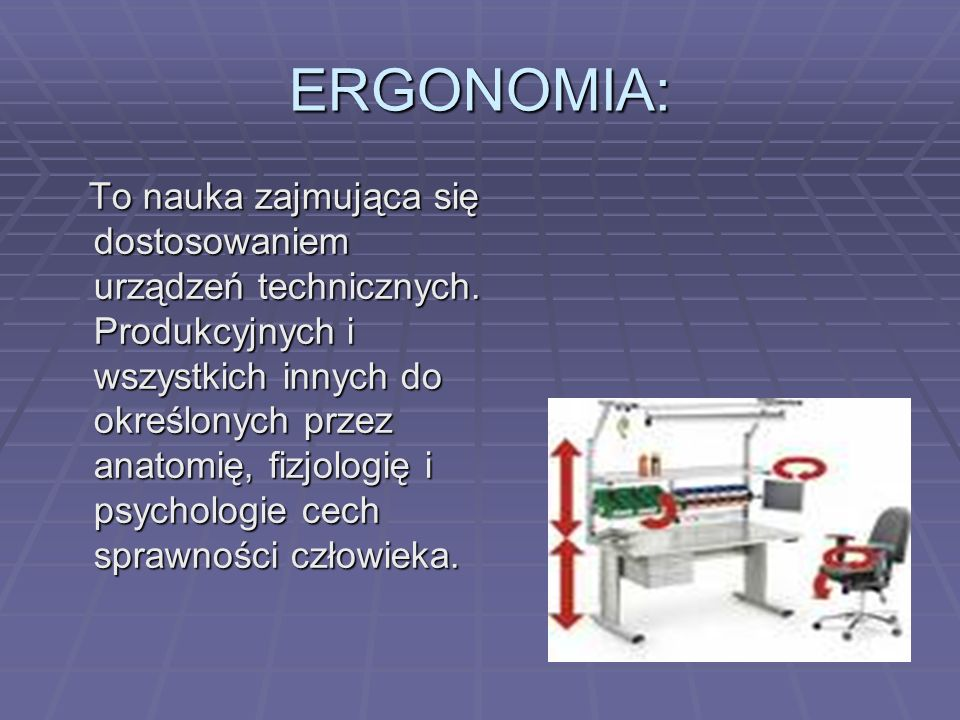 ERGONOMIA:
