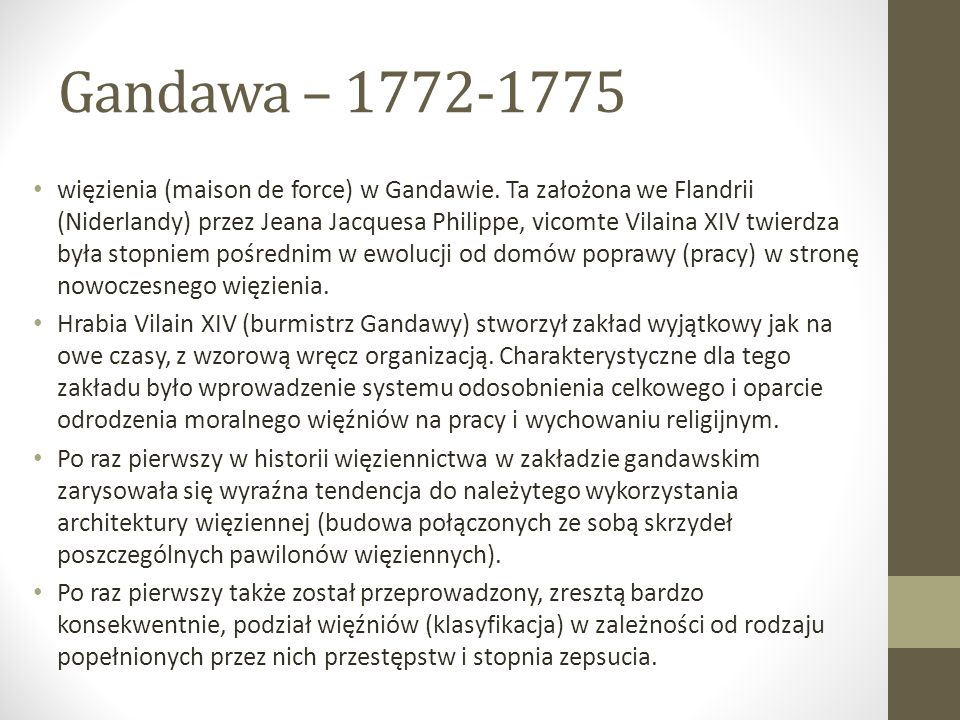 Gandawa – 1772-1775