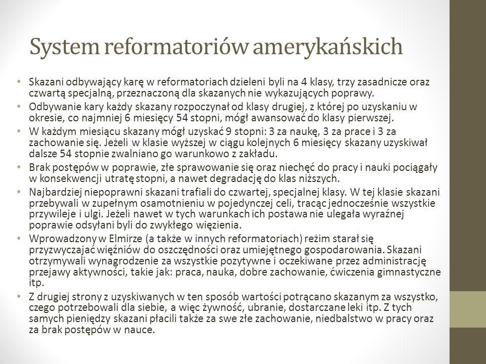 System reformatoriów amerykańskich