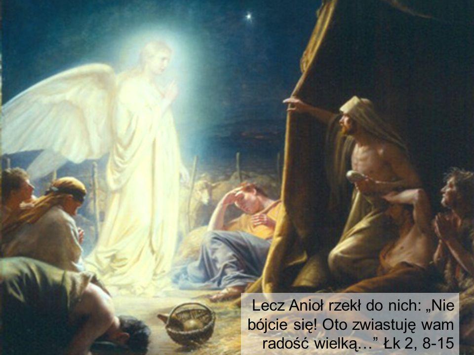 Aniołowie u pasterzyAnioł budzi pasterzy.