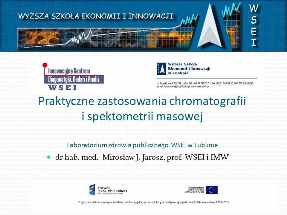 dr hab. med. Mirosław J. Jarosz, prof. WSEI i IMW