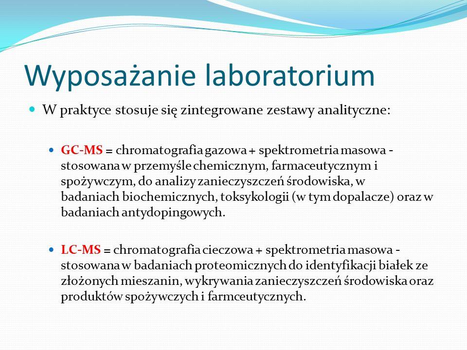 Wyposażanie laboratorium