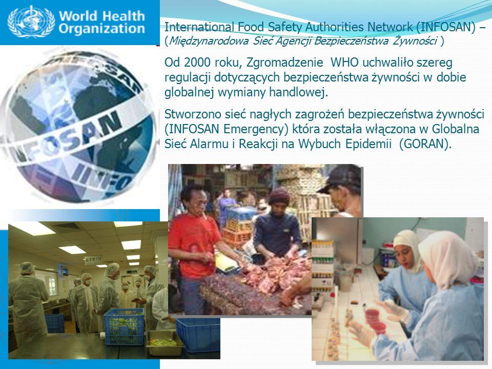International Food Safety Authorities Network (INFOSAN) – (Międzynarodowa Sieć Agencji Bezpieczeństwa Żywności )