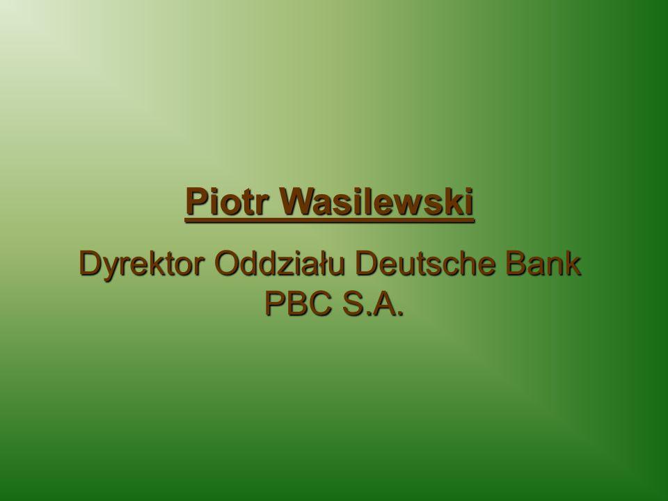 Dyrektor Oddziału Deutsche Bank