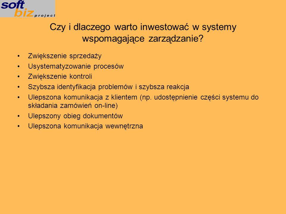 Czy i dlaczego warto inwestować w systemy wspomagające zarządzanie
