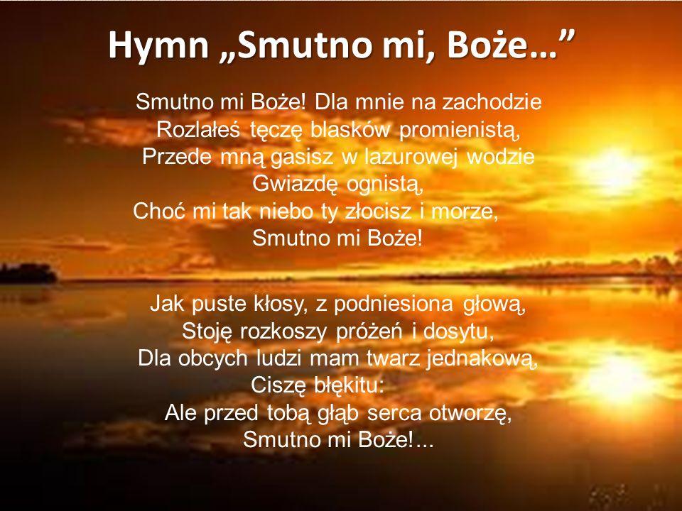 "Hymn ""Smutno mi, Boże…"