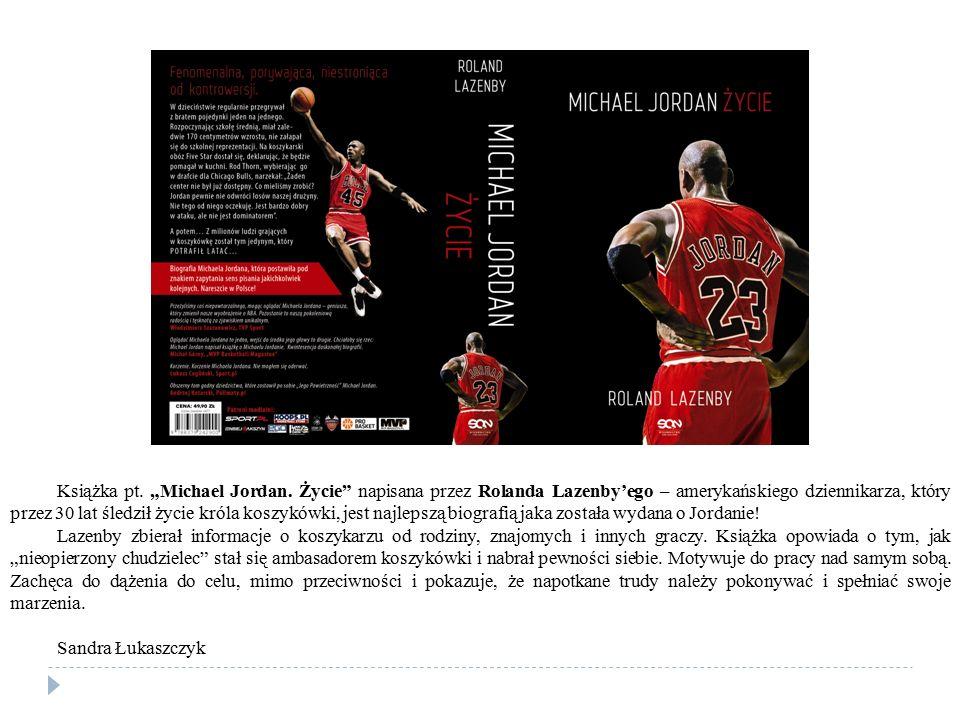 "Książka pt. ""Michael Jordan"