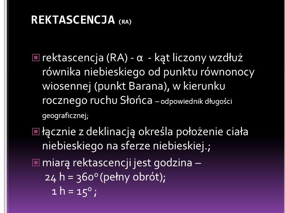 REKTASCENCJA (RA)