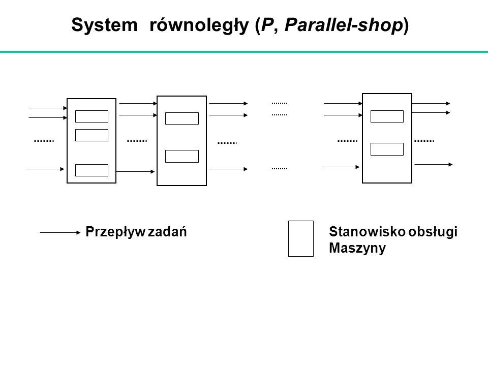 System równoległy (P, Parallel-shop)